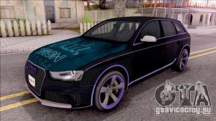 Audi RS4 Avant Edition Tron Legacy для GTA San Andreas
