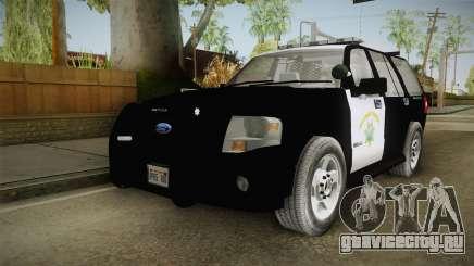 Ford Expedition CHP для GTA San Andreas