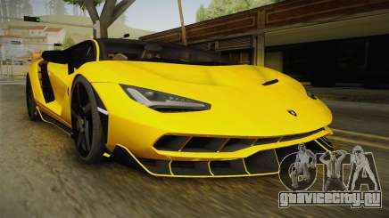 Lamborghini Centenario LP770-4 v1 для GTA San Andreas