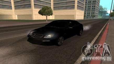 Mercedes-Benz C63 Armenia для GTA San Andreas