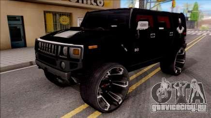 Hummer H2 Batman Edition для GTA San Andreas