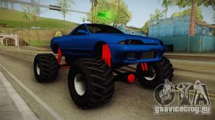 Nissan Skyline R32 Pickup Monster Truck для GTA San Andreas