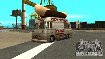 HotDog Fat Tony Tacos Tining 4X4 для GTA San Andreas