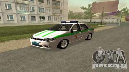 Fiat Albea ФСИН для GTA San Andreas