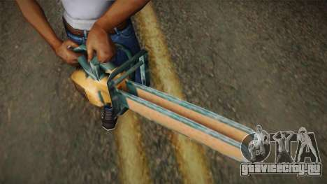 Motosierra Doble Hoja Version Oxidada для GTA San Andreas