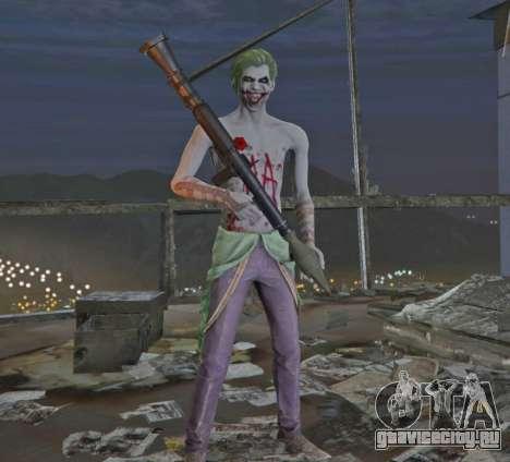 Joker from Injustice 2 для GTA 5 третий скриншот