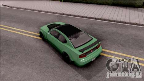 GTA V Bravado Buffalo Edition v1 для GTA San Andreas вид сзади
