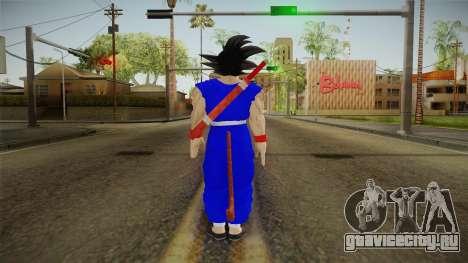 Goku Original DB Gi Blue v1 для GTA San Andreas третий скриншот