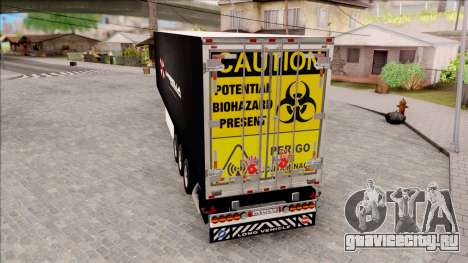 Trailer Biohazard Umbrella Corp. для GTA San Andreas