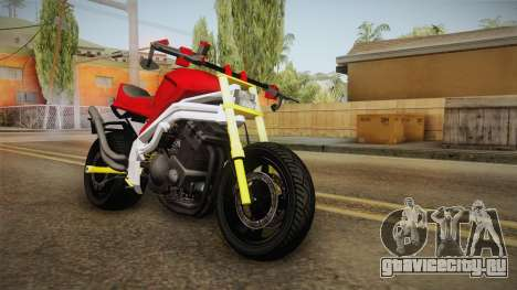 Honda CBR 1100CC Street Fighter Cipher для GTA San Andreas