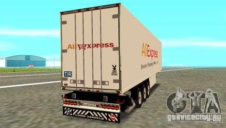 Прицеп Aliexpress для GTA San Andreas вид слева