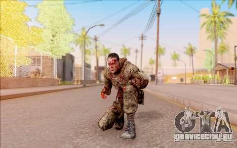 Зомби Дегтярёв из S.T.A.L.K.E.R. для GTA San Andreas пятый скриншот