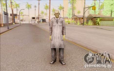 Зомби учёный из S.T.A.L.K.E.R. для GTA San Andreas второй скриншот