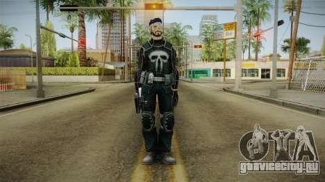 Punisher Omega Skin для GTA San Andreas второй скриншот