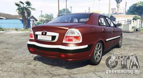 ГАЗ 3111 Волга [replace] для GTA 5 вид сзади слева