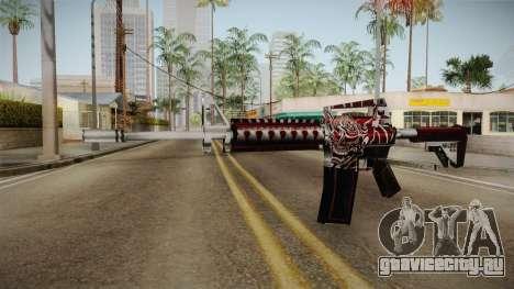 SFPH Playpark - Akuma M4A1 для GTA San Andreas
