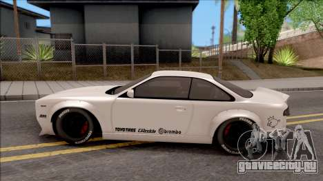 Nissan Silvia S14 Pandem для GTA San Andreas вид слева