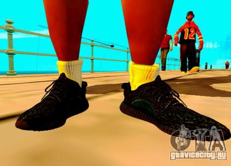 Adidas Yeezy Boost 350 Pack для GTA San Andreas третий скриншот