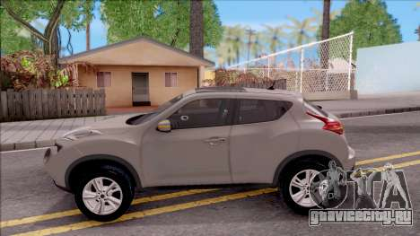 Nissan Juke для GTA San Andreas вид слева