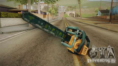 Motosierra Doble Hoja Chainsaw для GTA San Andreas второй скриншот