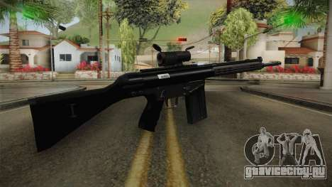 AK-4B Assault Rifle для GTA San Andreas третий скриншот