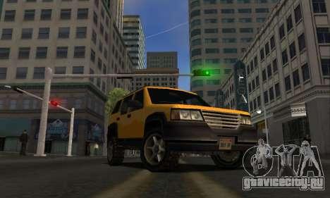 2002 Landstalker для GTA San Andreas вид сзади слева