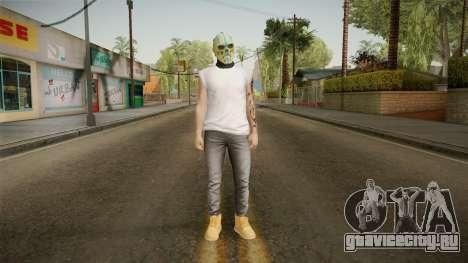 DLC Smuggler Male Skin для GTA San Andreas второй скриншот