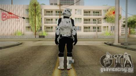 Star Wars Battlefront 3 - Scouttrooper DICE для GTA San Andreas третий скриншот