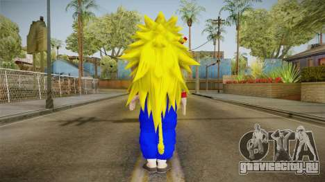 Goku Original DB Gi Blue v5 для GTA San Andreas третий скриншот