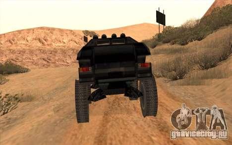 Кайман для GTA San Andreas вид справа