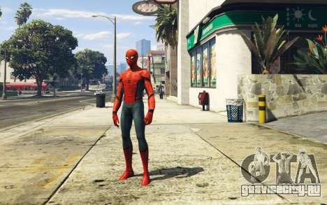 Spiderman [Add-On Ped] 2.2 для GTA 5