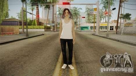 Resident Evil - Mia Winters для GTA San Andreas второй скриншот