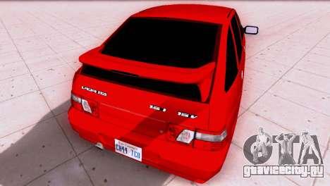 VAZ 2112 SA Plates для GTA San Andreas вид справа
