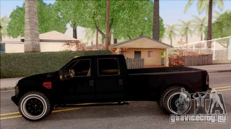 Ford F-350 Super Duty Low Style для GTA San Andreas вид слева