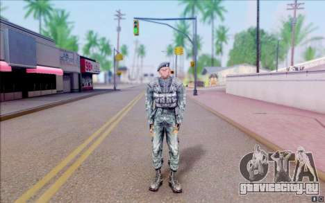 Рядовой Нейбор из S.T.A.L.K.E.R для GTA San Andreas второй скриншот