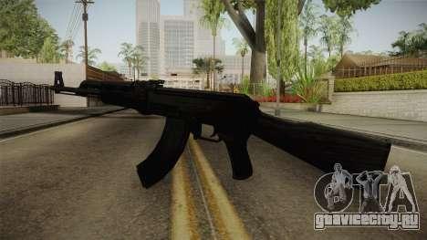 Black AK-47 для GTA San Andreas второй скриншот