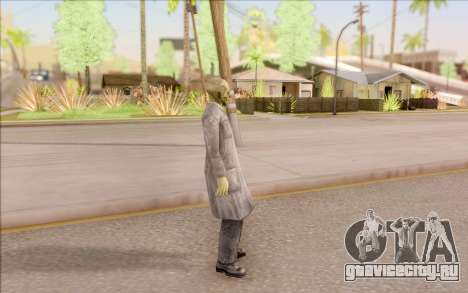 Зомби учёный из S.T.A.L.K.E.R. для GTA San Andreas третий скриншот