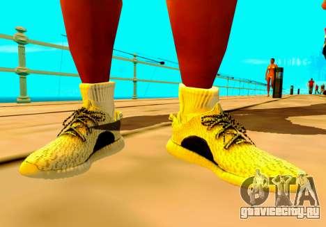 Adidas Yeezy Boost 350 Pack для GTA San Andreas четвёртый скриншот
