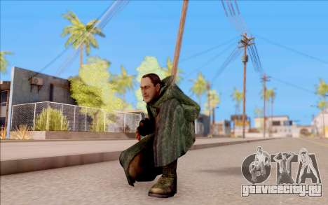 Захар из S.T.A.L.K.E.R. для GTA San Andreas шестой скриншот