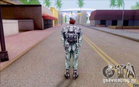 Рядовой Нейбор из S.T.A.L.K.E.R для GTA San Andreas четвёртый скриншот