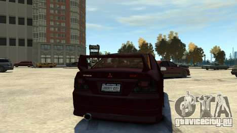 Mitsubishi Galant 8 VR-4 для GTA 4 вид справа
