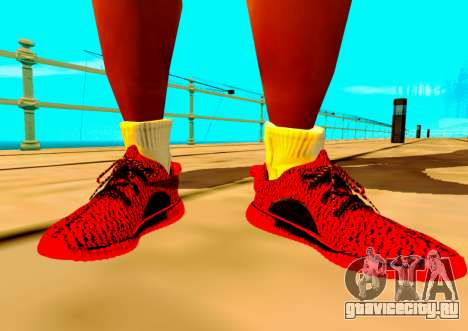 Adidas Yeezy Boost 350 Pack для GTA San Andreas второй скриншот