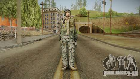 Georgian Soldier Skin v2 для GTA San Andreas второй скриншот