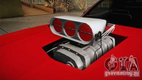Ford Gran Torino 1975 v2 для GTA San Andreas вид изнутри