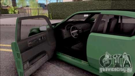GTA V Bravado Buffalo Edition v1 для GTA San Andreas вид изнутри