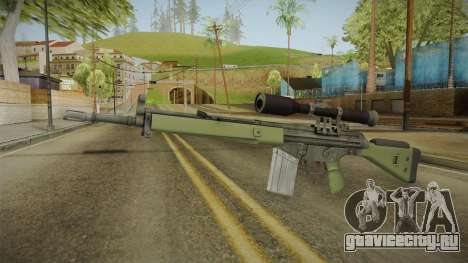 CS-GO - SG1 Sniper Rifle для GTA San Andreas