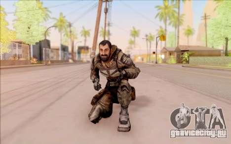 Вано из S.T.A.L.K.E.R. в комбинезоне СЕВА для GTA San Andreas
