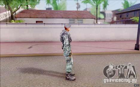 Полковник Коппер из S.T.A.L.K.E.R для GTA San Andreas третий скриншот