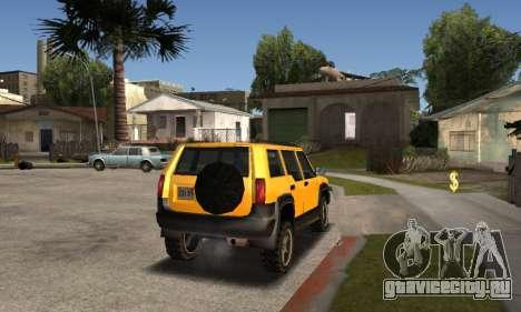 2002 Landstalker для GTA San Andreas вид слева