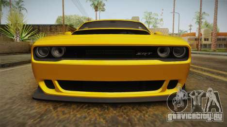 Dodge Challenger 2017 Demon для GTA San Andreas